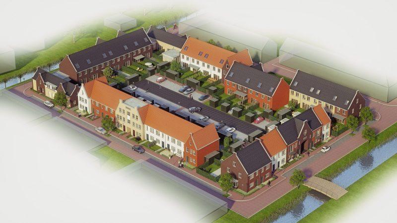 Nieuwbouw 45 woningen Brink te Pijnacker